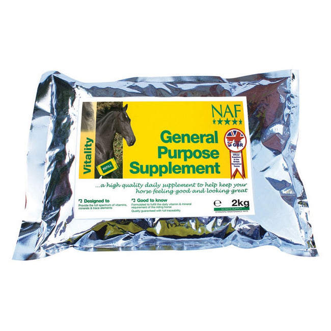 May Vary - Back - NAF General Purpose Supplement