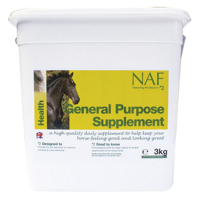 May Vary - Side - NAF General Purpose Supplement