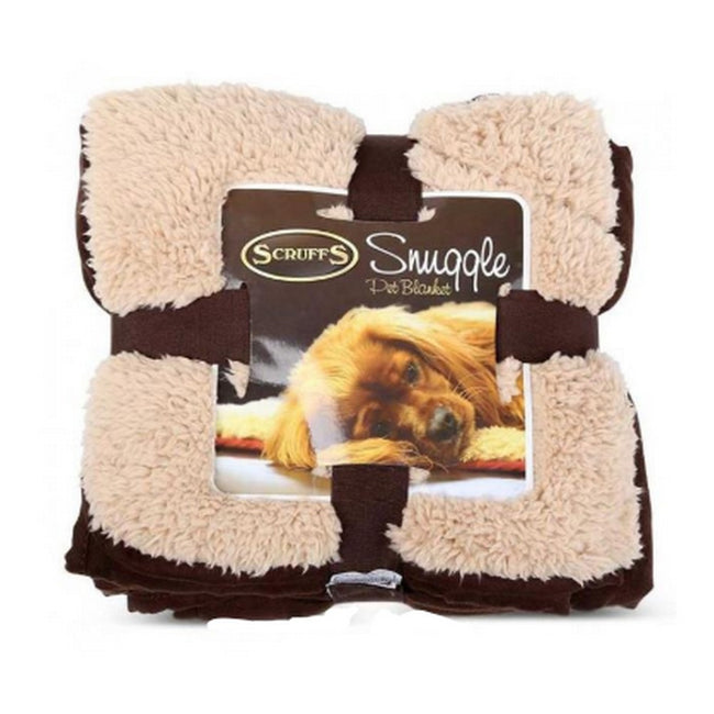 Chocolate - Front - Scruffs Snuggle Blanket