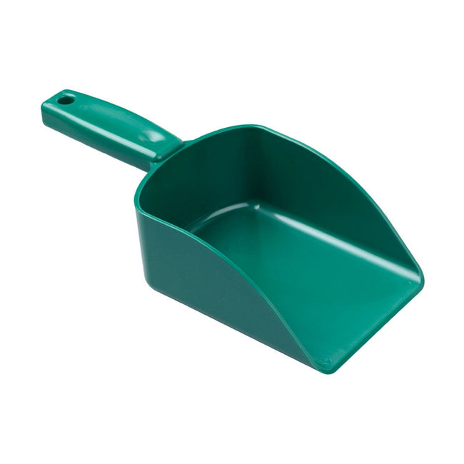 Green - Front - Hill Brush Hand Scoop