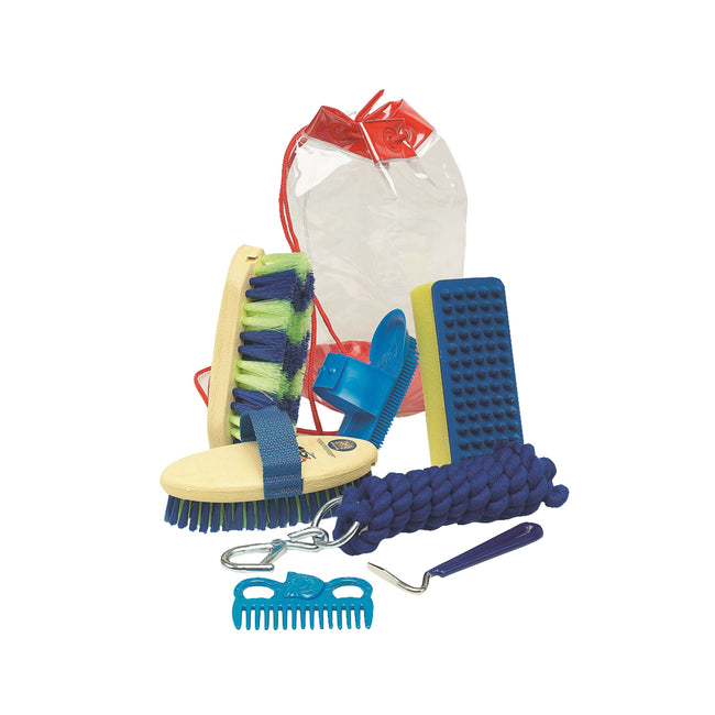 Blue - Front - Lincoln Wickedly Wild Grooming Kit