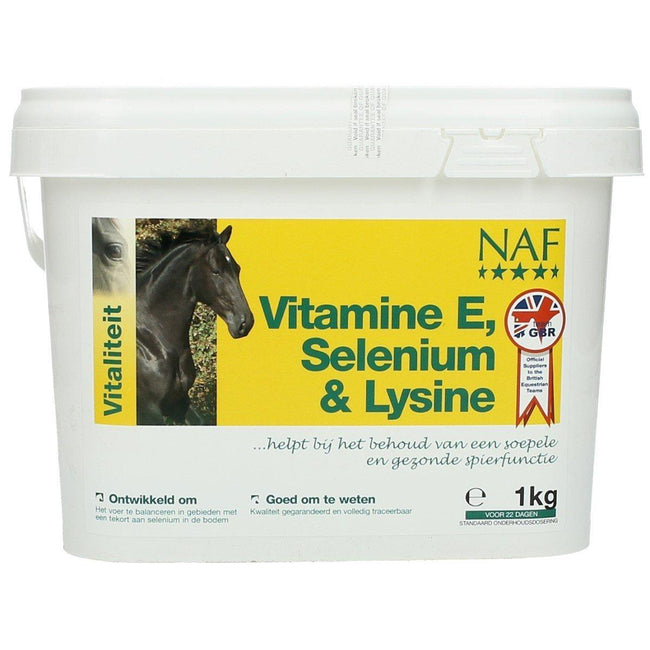 May Vary - Front - NAF Horse Vitamin E Selenium & Lysine Supplement