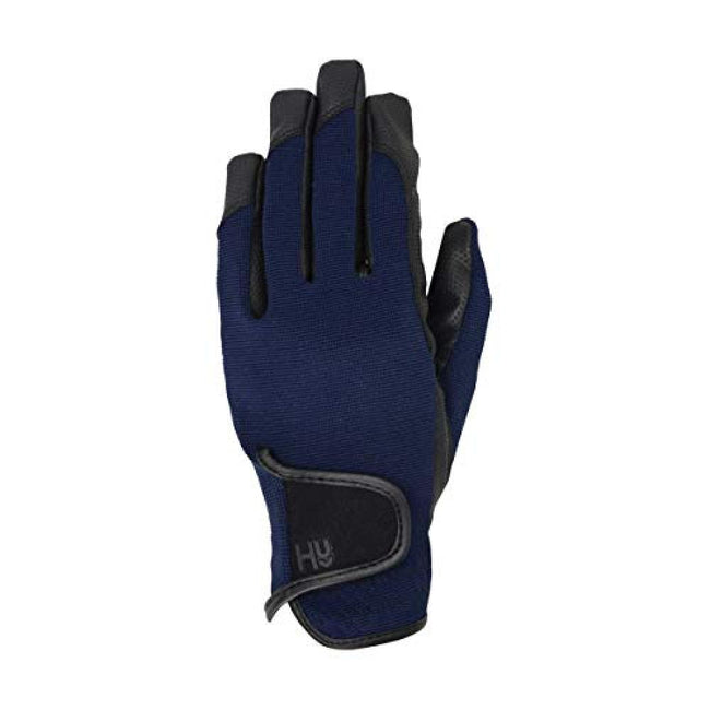 Marine Navy - Front - Hy5 Adults Burnham Pro Riding Gloves
