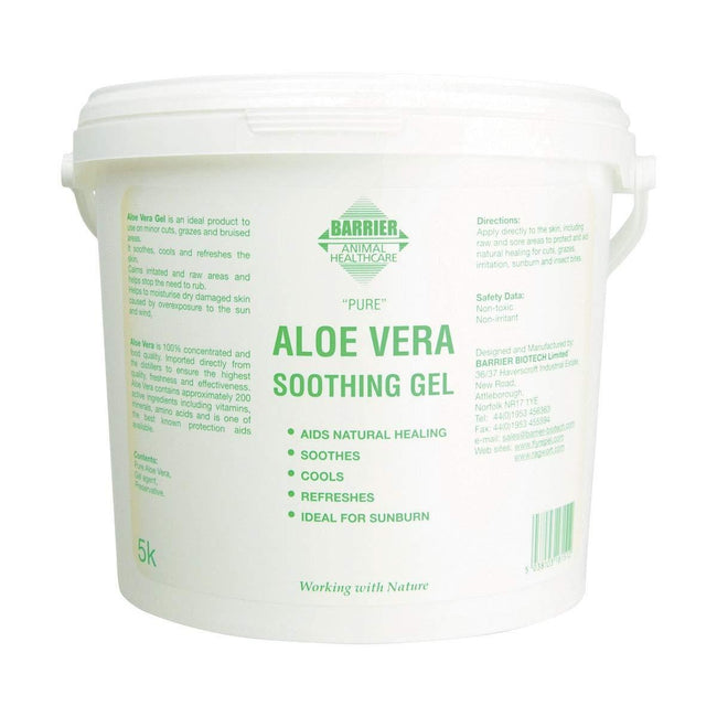 White-Green - Front - Barrier Aloe Vera Soothing Gel Liquid