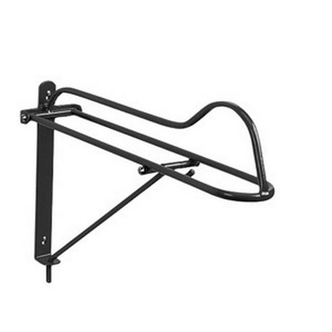 Black - Front - Stubbs Folding Saddle Rack