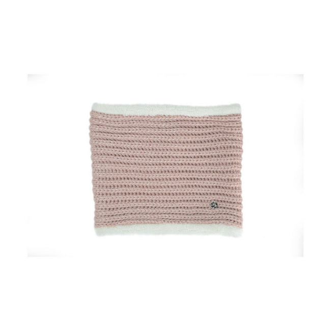 Pink - Front - HyFASHION Adults Avoriaz Metallic Snood