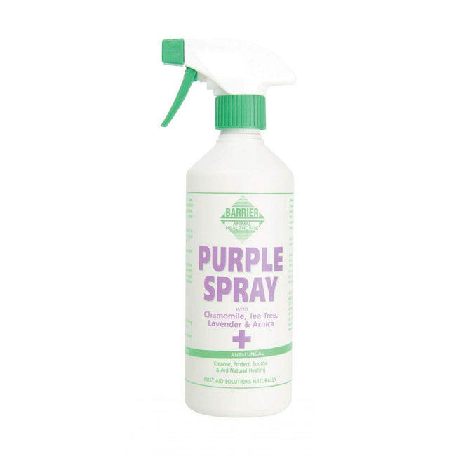 Clear - Front - Barrier First Aid Purple Spray Liquid