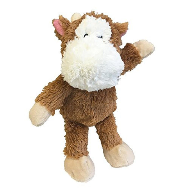 Banjo Cow (Brown-White) - Front - Gloria Plush Animal Dog Toy