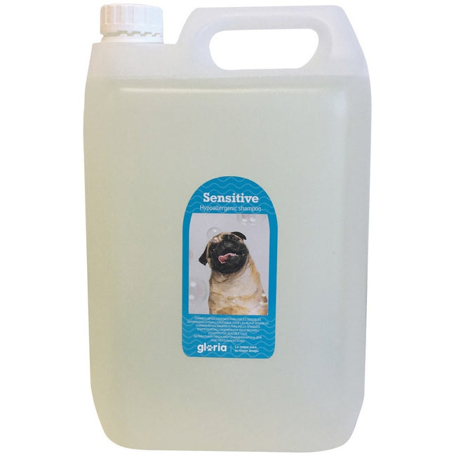 White - Front - Gloria Sensitive Hypoallergenic Dog Liquid Shampoo