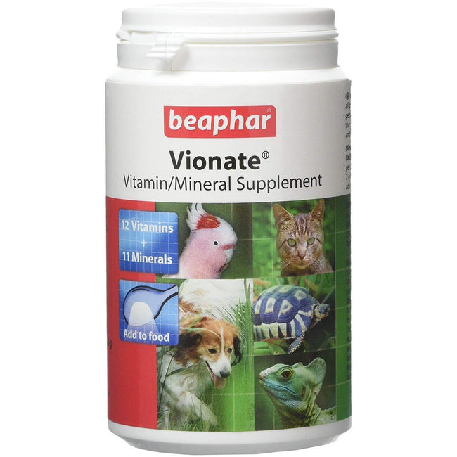May Vary - Front - Beaphar Vionate Pet Vitamin-Mineral Supplement