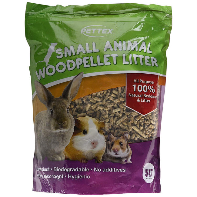 May Vary - Front - Pettex Wood Pellet Small Animal Litter