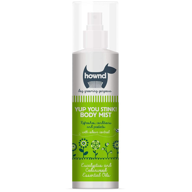Green - Front - Hownd Yup You Stink Body Mist Dog Liquid Spray