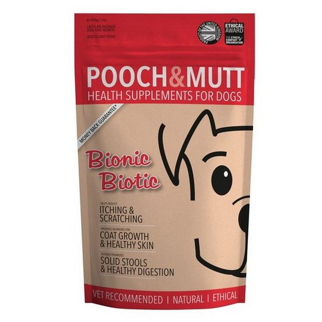 May Vary - Front - Pooch And Mutt Bionic Biotic Dog Health Supplement