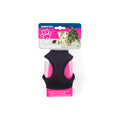 Black - Back - Ancol Cat-Small Dog Soft Harness And Lead