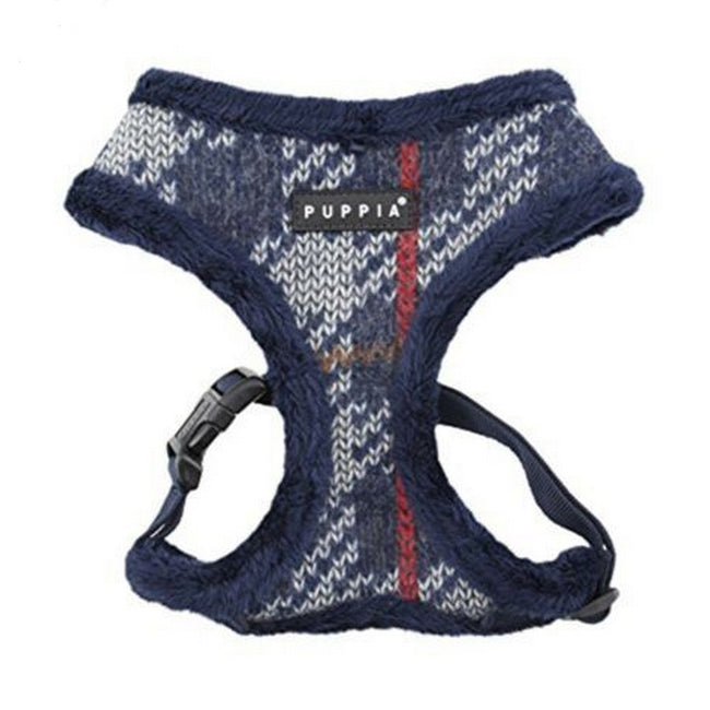 Navy - Front - Puppia Eldric A Dog Harness