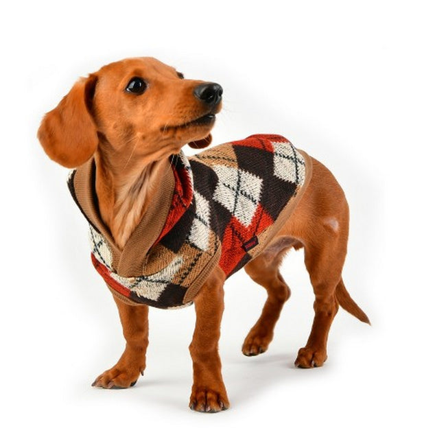Beige - Side - Puppia Jolly Dog Jumper