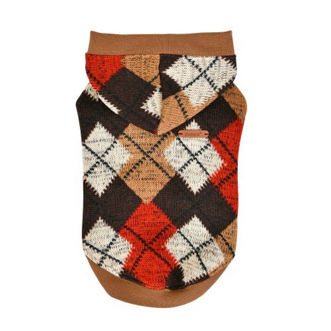 Beige - Front - Puppia Jolly Dog Jumper