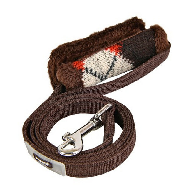 Brown - Front - Puppia Jolly Dog Lead