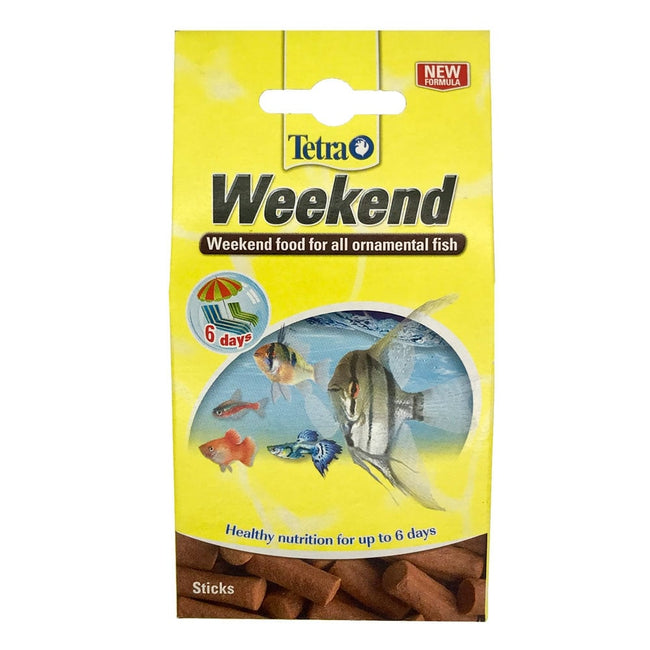 Brown - Front - TetraMin Weekend Holiday Ornamental Fish Food (10 Sticks)