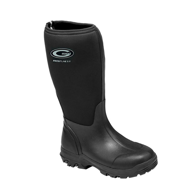 Black - Back - Grubs Womens-Ladies Frostline Boots