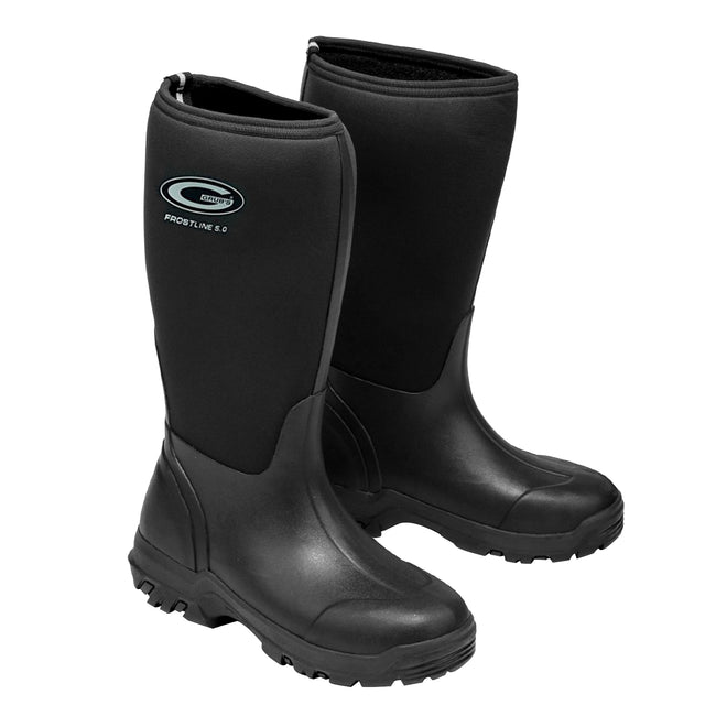 Moss Green - Front - Grubs Womens-Ladies Frostline Boots