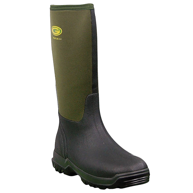 Moss Green - Back - Grubs Womens-Ladies Frostline Boots