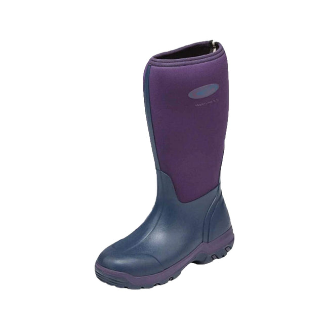 Violet - Front - Grubs Womens-Ladies Frostline Boots