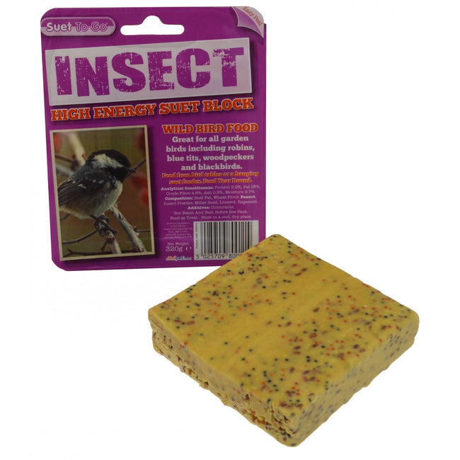 Insect - Back - Suet To Go Suet Tray Block