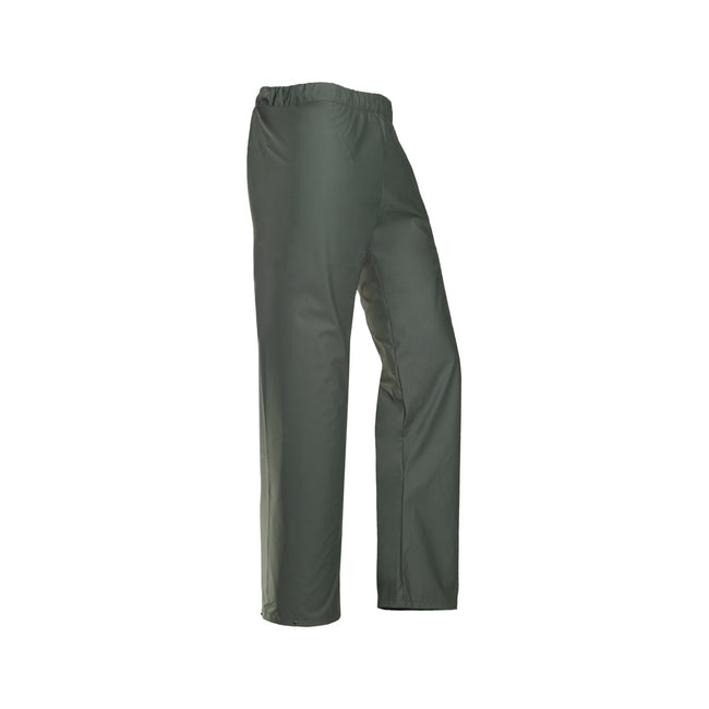Olive Green - Front - Flexothane Essential Bangkok Trousers