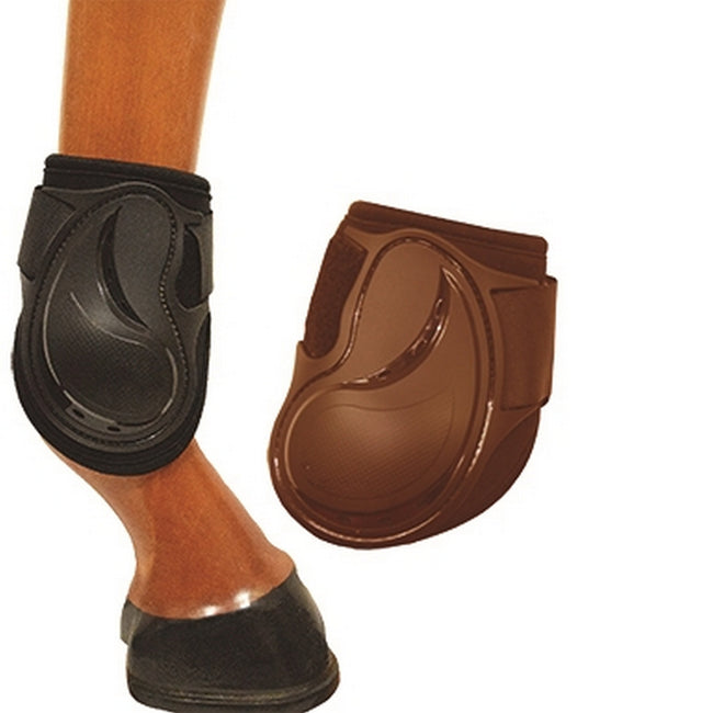 Brown - Front - Mark Todd Flexion Fetlock Boots
