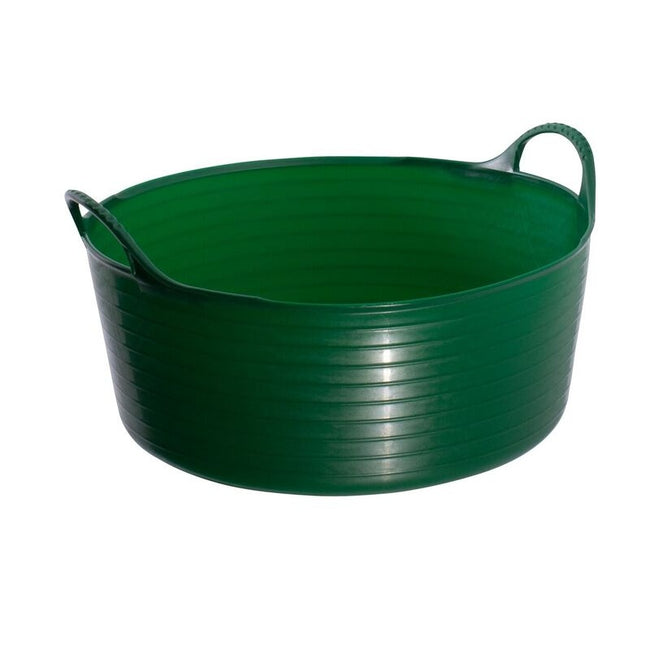 Green - Front - Red Gorilla Shallow Flexible Tubtrug