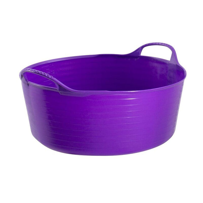 Purple - Front - Red Gorilla Shallow Flexible Tubtrug