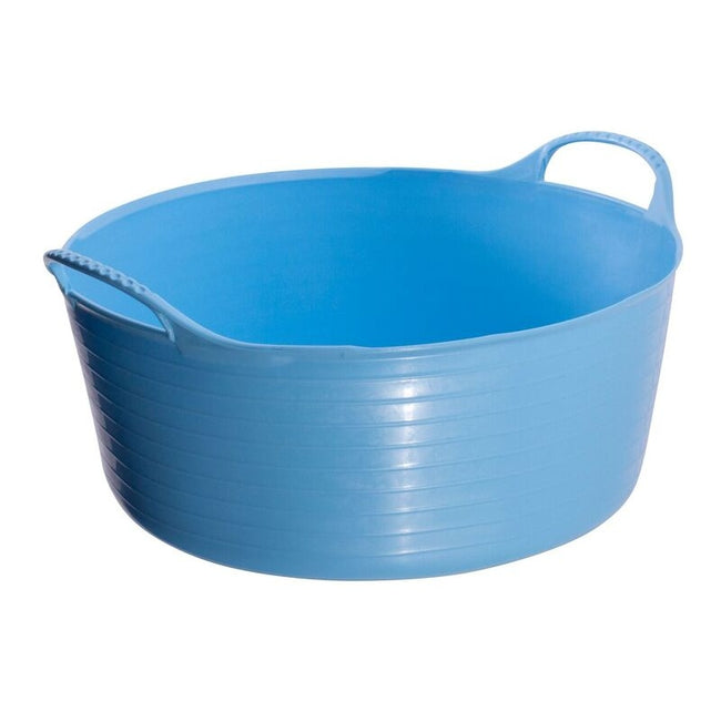 Sky Blue - Front - Red Gorilla Shallow Flexible Tubtrug