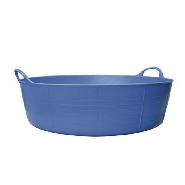 Blue - Front - Red Gorilla Shallow Flexible Tubtrug