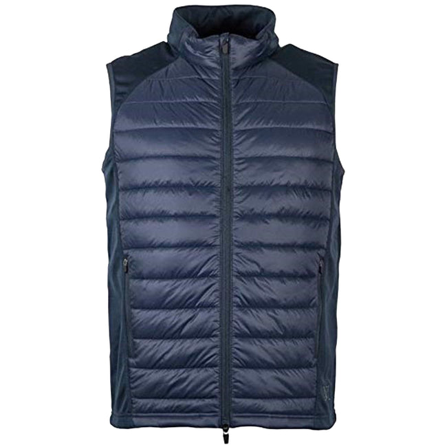Navy - Front - Mark Todd Adults Unisex Quilted Gilet