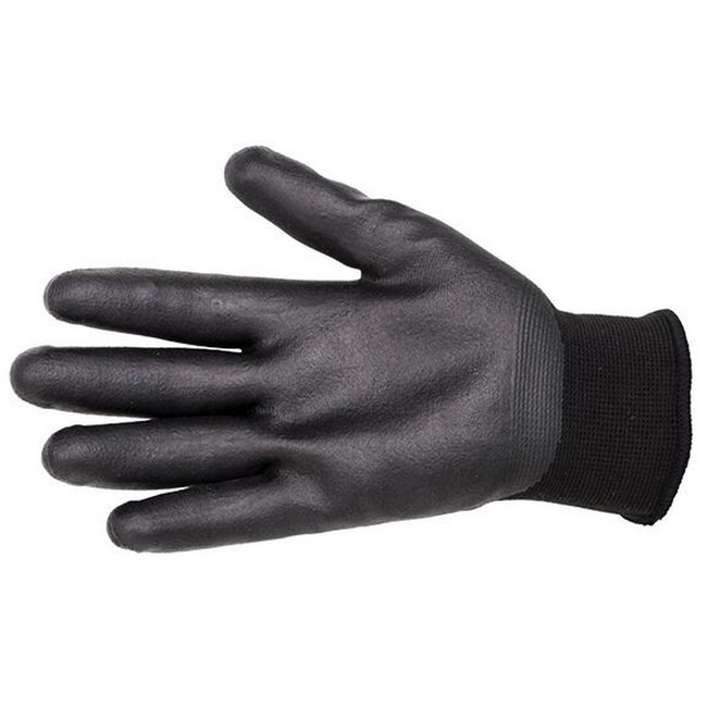 Black - Front - Mark Todd Adults Winter Yard Gloves