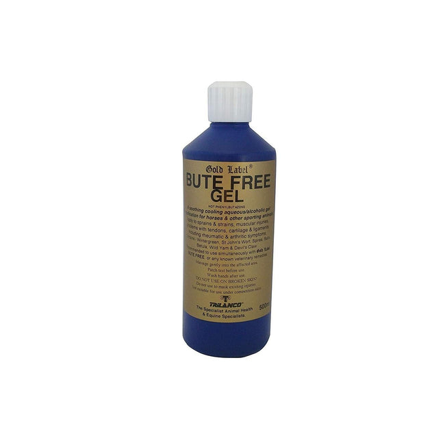 Blue - Front - Gold Label Bute Free Gel