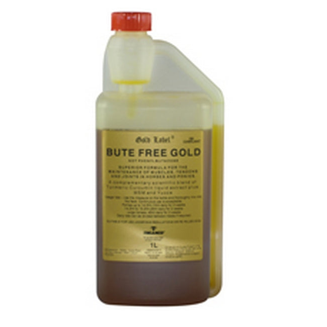 May Vary - Front - Gold Label Bute Free Gold Liquid