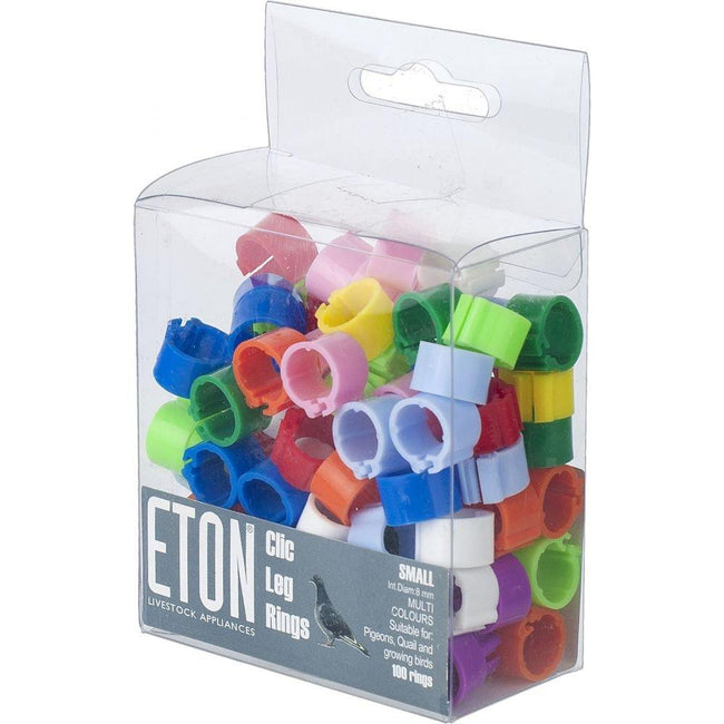 May Vary - Front - ETON Clic Leg Rings (100 Pack)