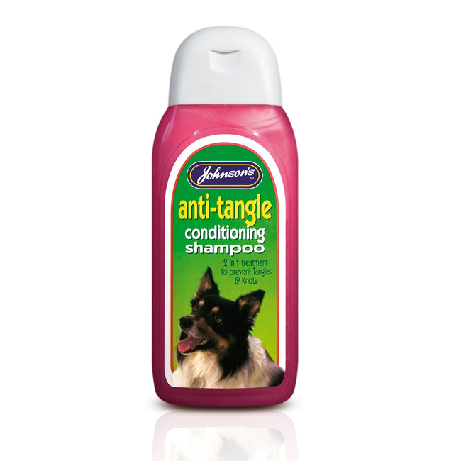 N-A - Front - Johnsons Veterinary Anti-Tangle Conditioning Dog Shampoo Liquid
