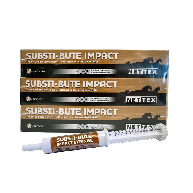 May Vary - Front - Nettex Substi-Bute Syringe  Liquid Supplement For Horses (Pack Of 3)