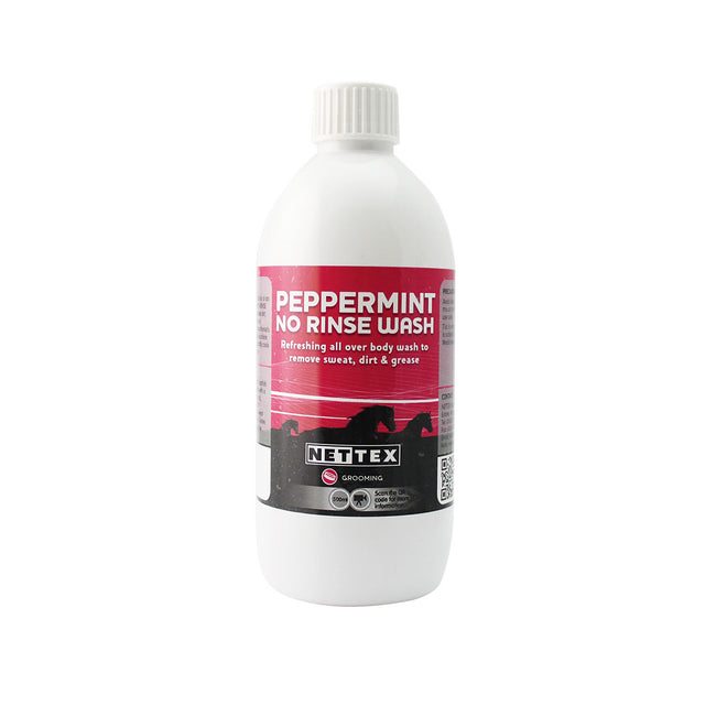 May Vary - Back - Nettex Peppermint No Rinse Liquid Wash for Horses (Pack of 2)