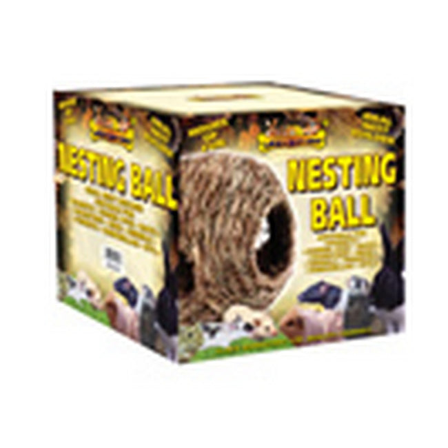 Brown - Back - Lazy Bones Nesting Ball