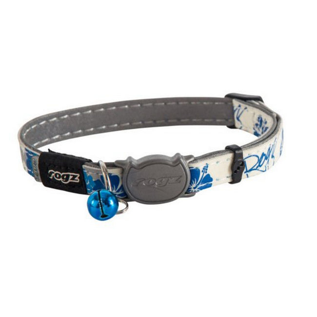 Blue - Front - Rogz Glowcat Cat Collar