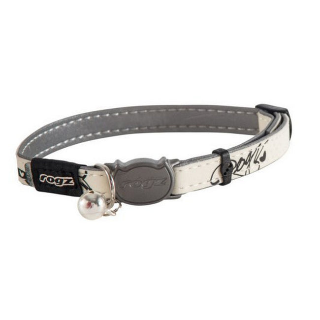 Black - Front - Rogz Glowcat Cat Collar