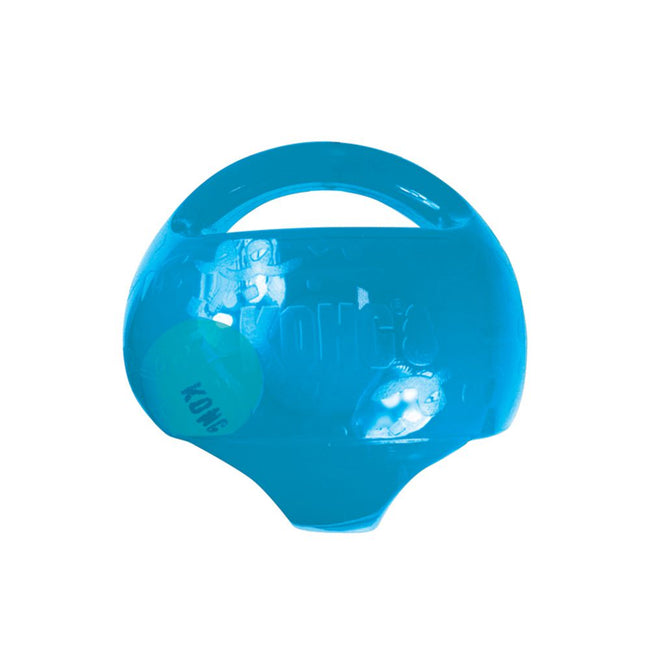 Blue - Front - KONG Jumbler Two In One Dog Ball