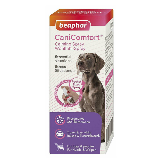 May Vary - Front - Beaphar CaniComfort Dog Calming Liquid Spray