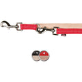 Red-Beige - Back - Trixie Softline Adjustable Dog Leash