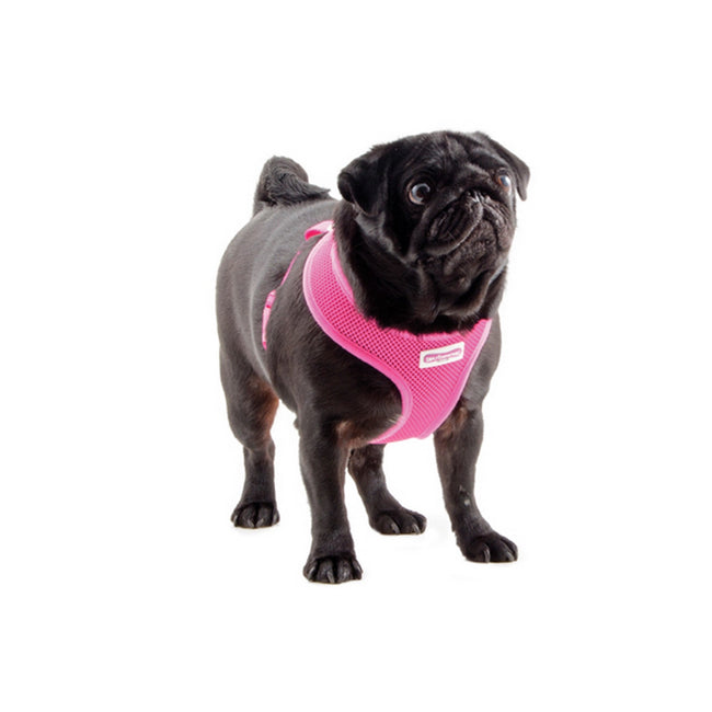 Pink - Front - Ancol Pet Products Comfort Mesh Dog Harness