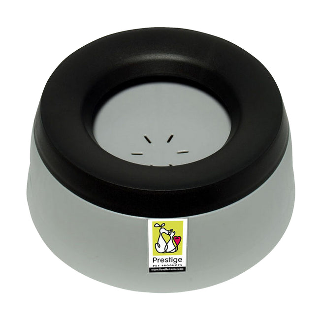 Grey - Front - Prestige Road Refresher Non Spill Water Bowl